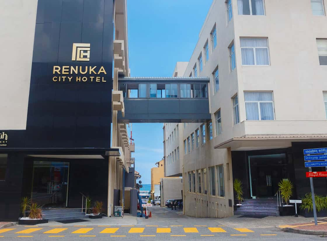 Renuka City Hotel Front View